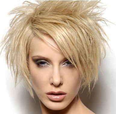 Messy Short Hairstyles 2011
