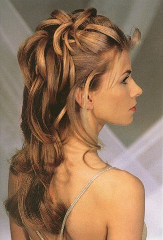 easy prom hair style
