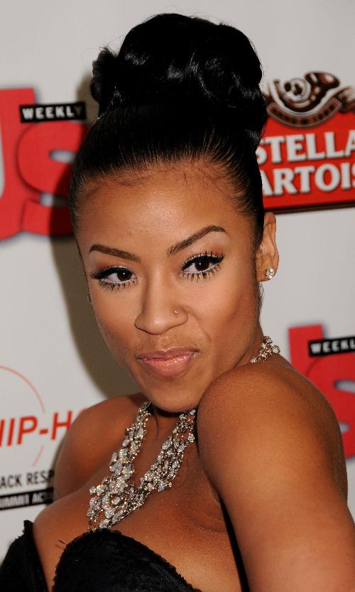 Keyshia Cole beautiful Updo Hairstyle Photo | Hairstyles ...