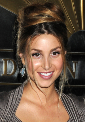 Groovy Whitney Port Messy Bun Hairstyle Hairstyles Pictures Hairstyles For Women Draintrainus